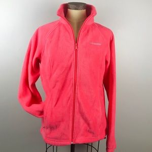 COLUMBIA Soft and comfy warm fleece jacket size M